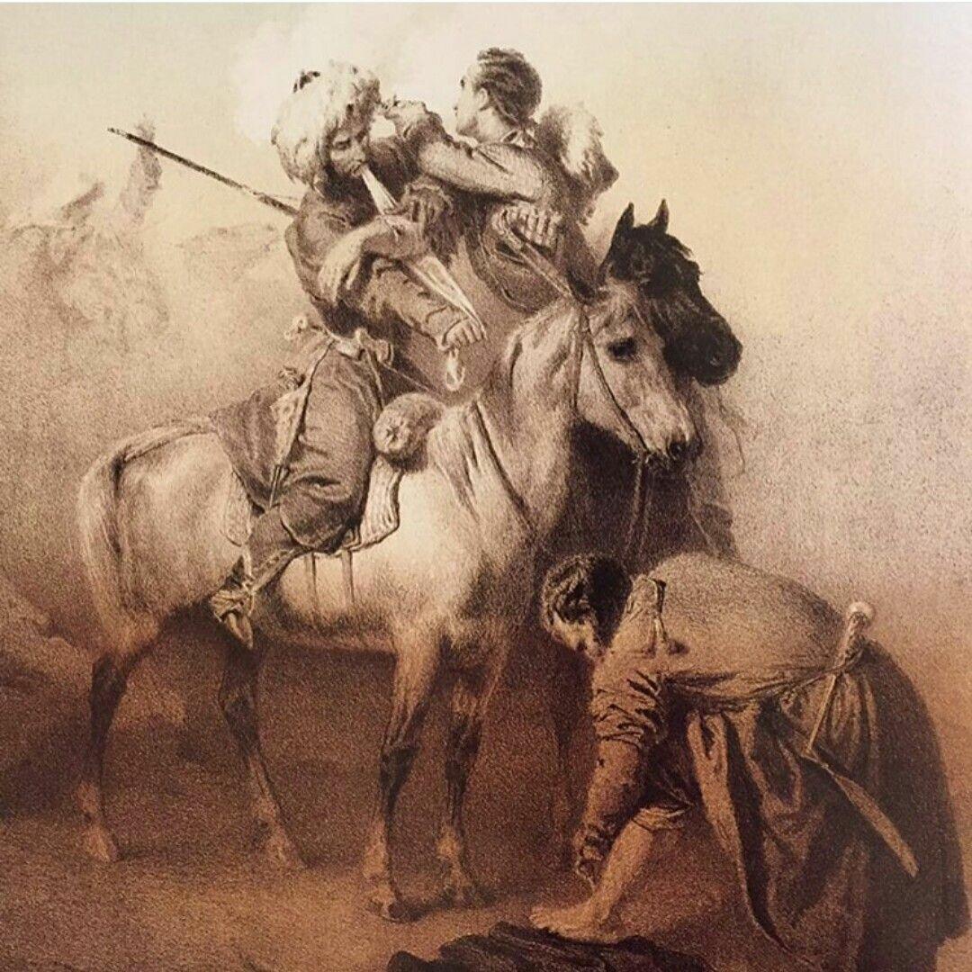 Поединок убыхского дворянина Хаджи Берзек и князя Али-бей