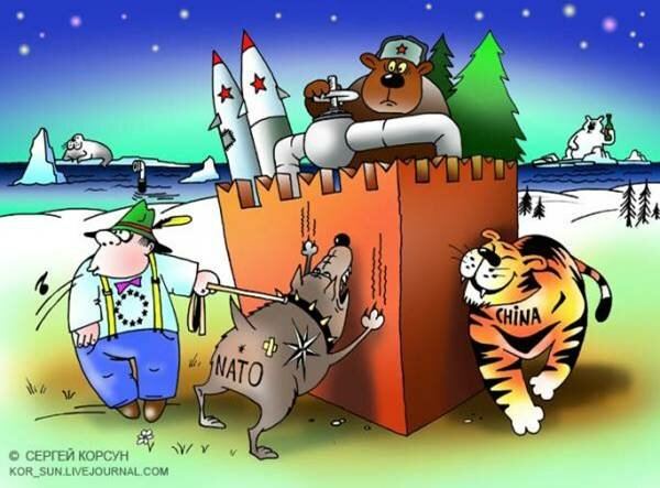 Россия - между Европой и Азией