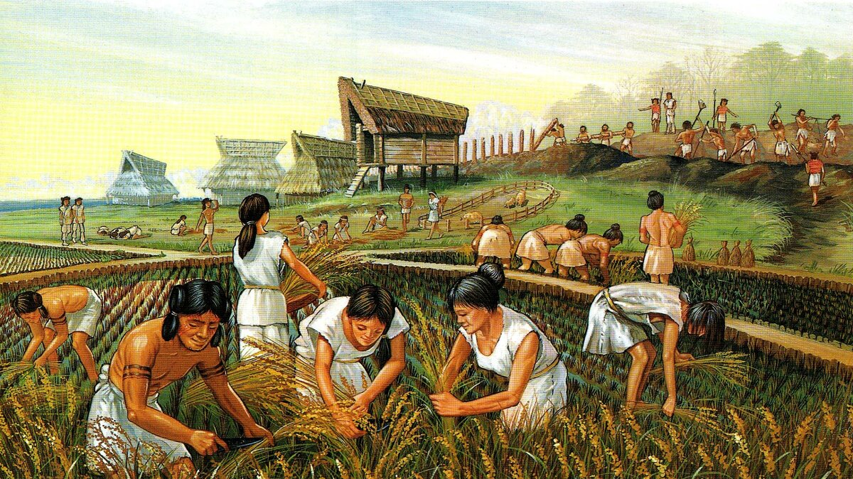 Охотники и земледельцы неолита