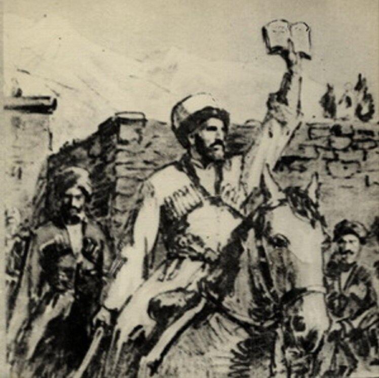 Имам Гази-Мухаммад и чеченцы.