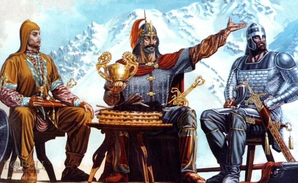 Римский историк Аммиан Марцеллин об аланах.