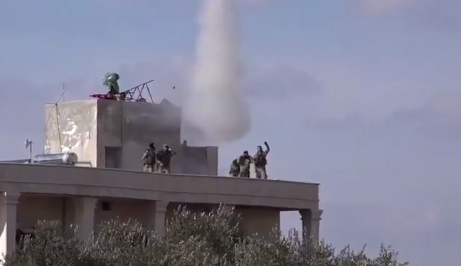 Турецкие военные пытались сбить российский Су-24 (видео)