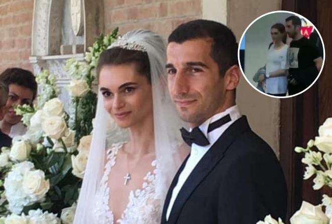 Как выглядит жена знаменитого футболиста Генриха Мхитаряна. Кто она