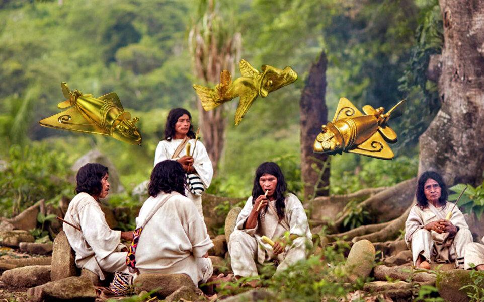 «Самолеты» древних индейцев: то, что поставило ученых в тупик!
