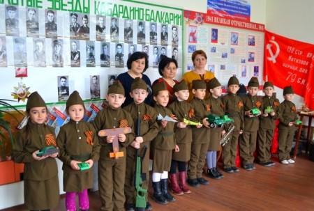 В Баксанском районе уроки мужества проводят в краеведческом музее