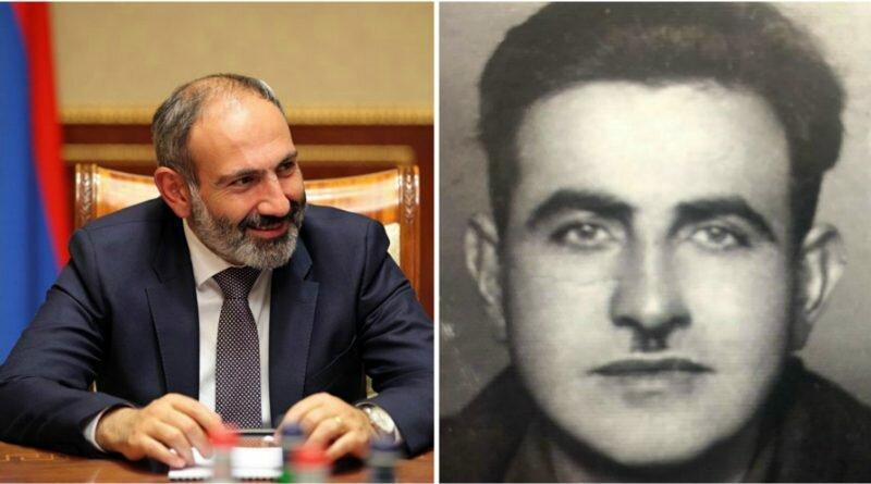 Дед Пашиняна воевал в рядах Советской армии: Центр проверки информации аппарата премьера РА