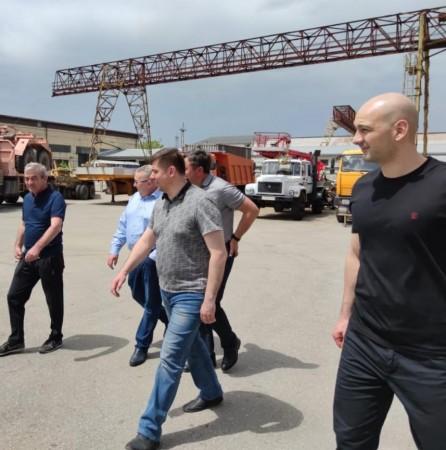 Виктор Абаимов проверил работу электросетевого комплекса КБР