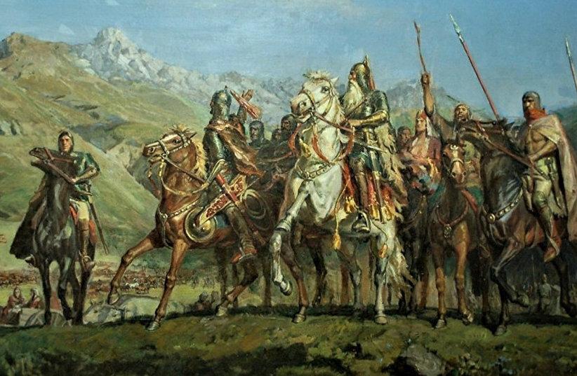 Как аланы Запад осваивали?