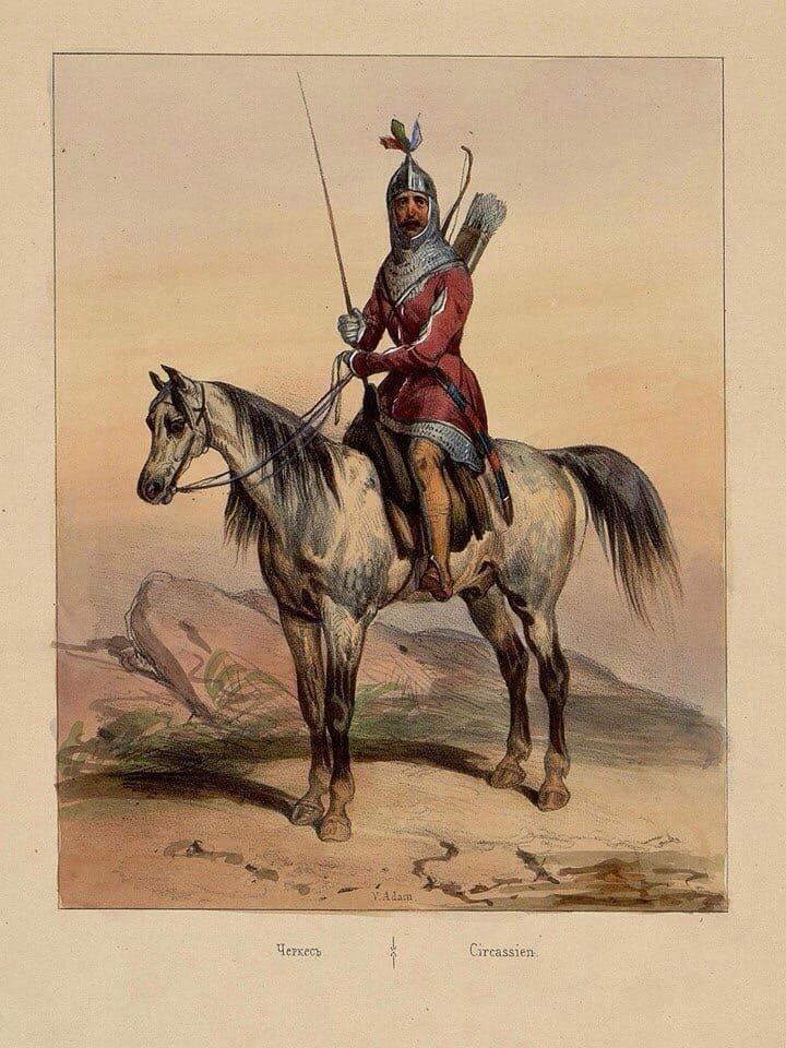 Костюм черкесов, почему его переняли все народы Кавказа и не только...