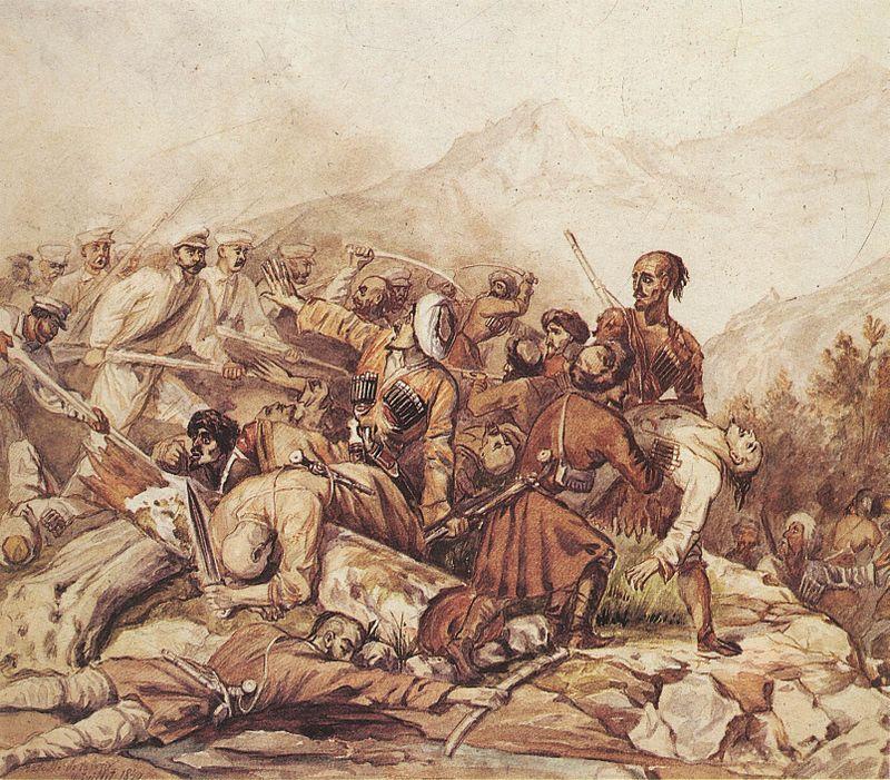 Валерик - 180 лет. Рассказываем о самом известном сражении Кавказской войны в Чечне
