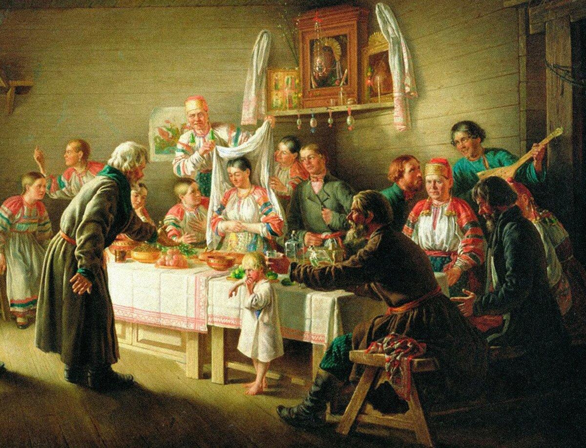 Что вынуждало молодых людей к ранней женитьбе в русских деревнях