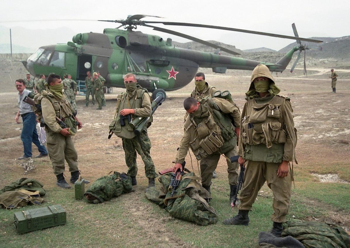 Жизнь в Дагестане во время Чеченской войны