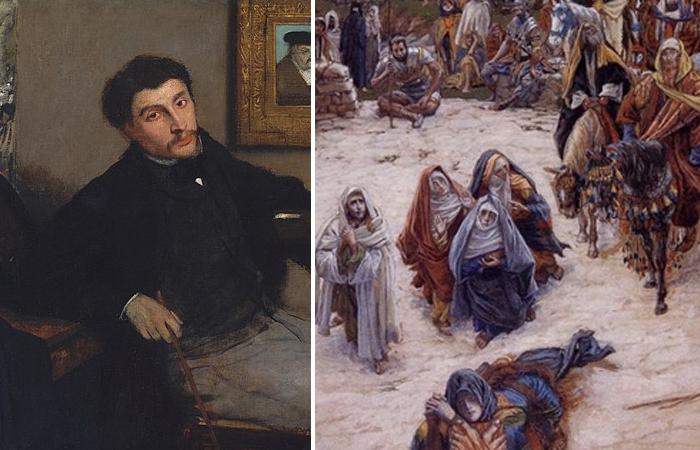 Почему люди плакали и молились у картин художника, показавшего что Иисус видел с креста: Джеймс Тиссо