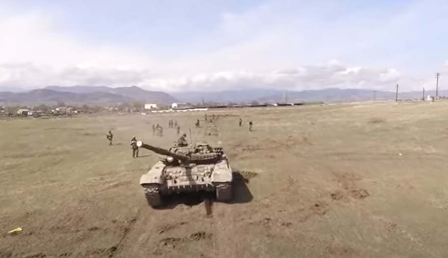 Армия обороны Арцаха регулярно проводит учения с привлечением резервистов (видео)