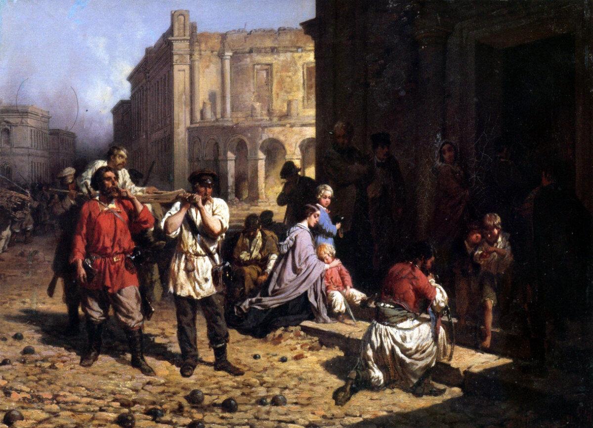 На эпидемиях наживались всегда: пример из XIX века. Если мора нет – его нужно выдумать!
