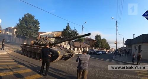Первые мобилизованные граждане Нагорного Карабаха направлены в зону конфликта