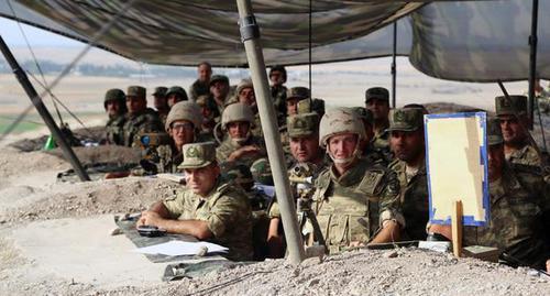 Алиев объявил о военном положении в Азербайджане