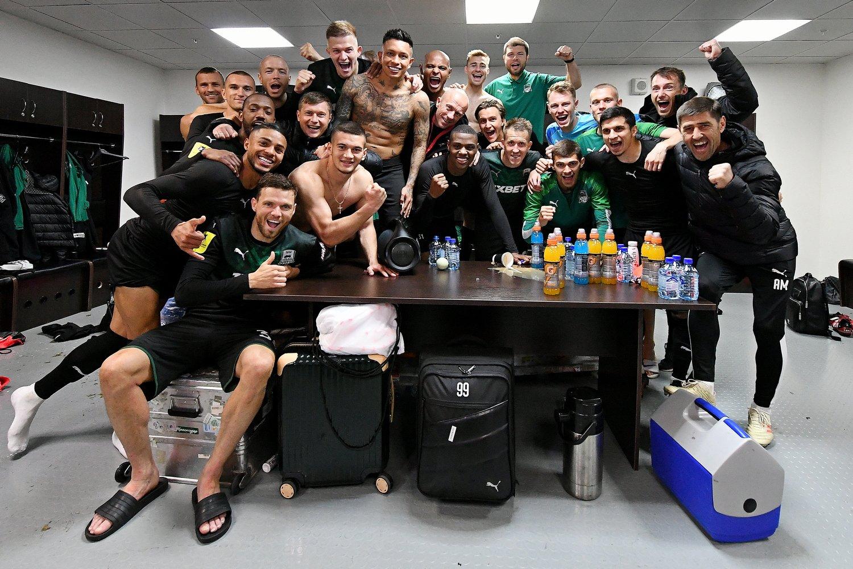 «Краснодар» победил ПАОК и впервые попал в Лигу чемпионов