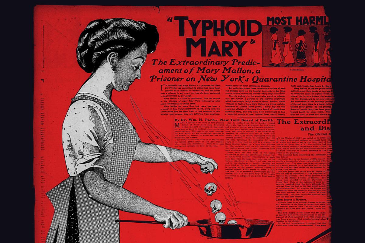 20 лет тайного террора Тифозной Мэри! Едва не сгубила Нью-Йорк!