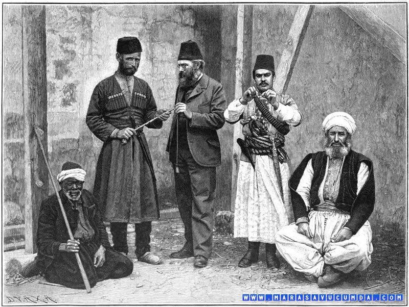 Черкесов считались самыми надежных войнами Османской империи