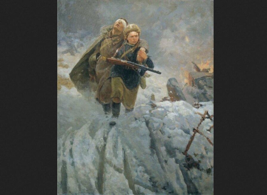 Военная медсестра: какой ее показывали советские художники