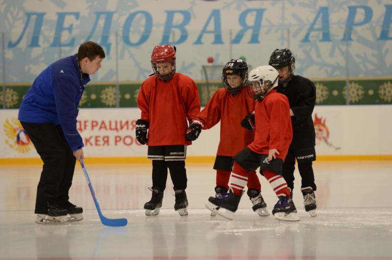 Хоккейное будущее. В ледовой арене «Оштен» в Адыгее готовятся к открытию детской спортивной секции