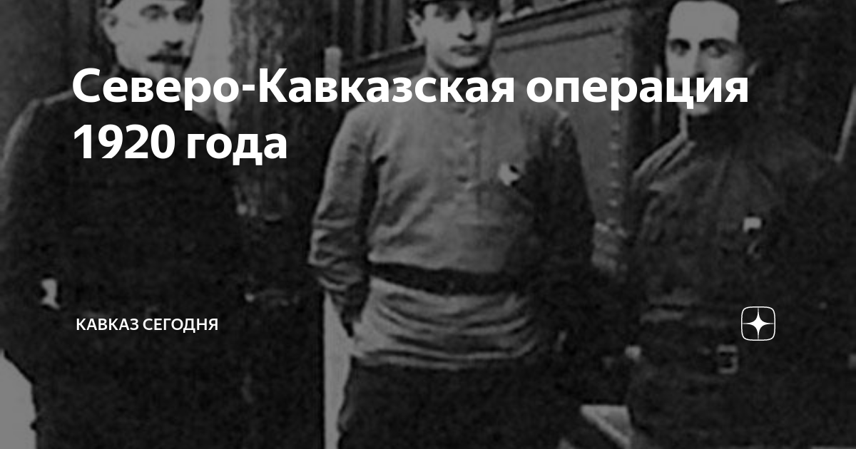 Северо-Кавказская операция 1920 года