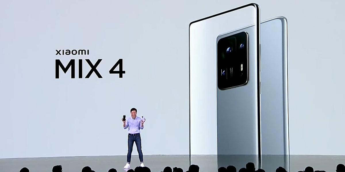 Xiaomi представила керамический смартфон MIX 4 со скрытой селфи-камерой