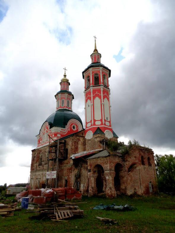 фото спасской церкви в селе ошеть игрунка соперничает