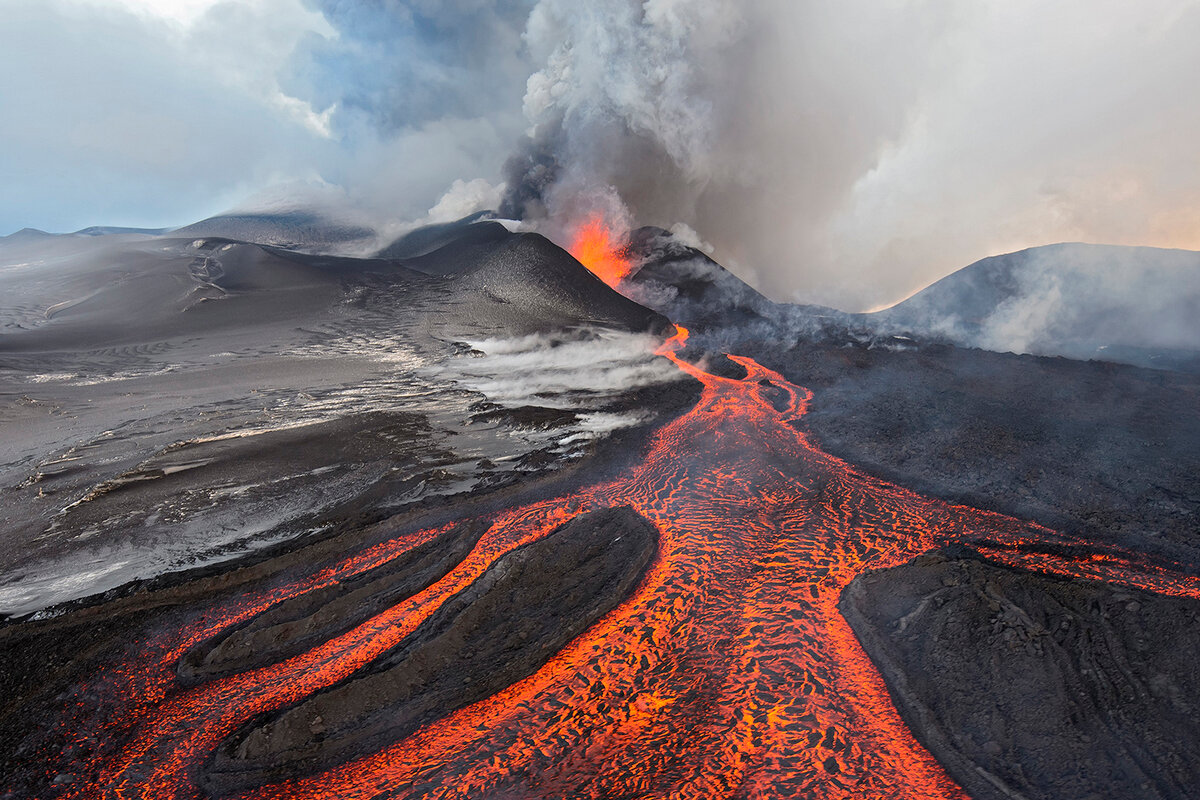 Картинка как выглядит вулкан